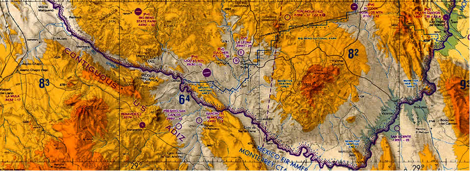 Big Bend Map